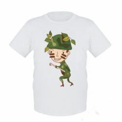 Детская футболка Cміливий солдат - FatLine