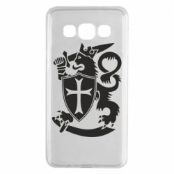 Чехол для Samsung A3 2015 Coat of arms of Finland Leo