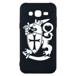 Чехол для Samsung J5 2015 Coat of arms of Finland Leo
