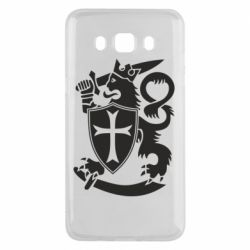 Чехол для Samsung J5 2016 Coat of arms of Finland Leo
