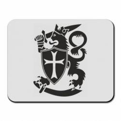 Коврик для мыши Coat of arms of Finland Leo