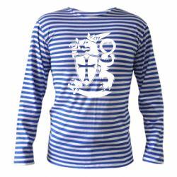 Тельняшка с длинным рукавом Coat of arms of Finland Leo