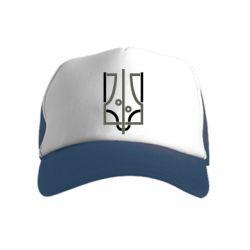 Дитяча кепка-тракер Coat of arms of Ukraine and the percentage