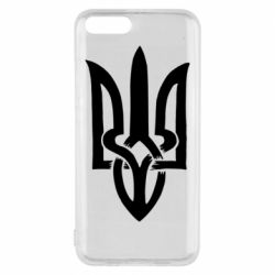 Чехол для Xiaomi Mi6 Coat of arms of Ukraine torn inside