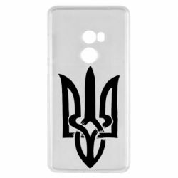 Чехол для Xiaomi Mi Mix 2 Coat of arms of Ukraine torn inside