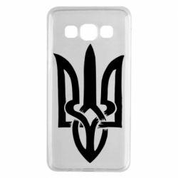 Чехол для Samsung A3 2015 Coat of arms of Ukraine torn inside