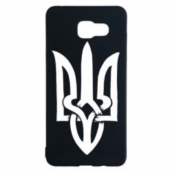 Чехол для Samsung A5 2016 Coat of arms of Ukraine torn inside
