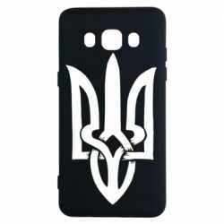 Чехол для Samsung J5 2016 Coat of arms of Ukraine torn inside