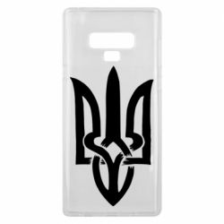 Чехол для Samsung Note 9 Coat of arms of Ukraine torn inside