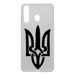Чехол для Samsung A60 Coat of arms of Ukraine torn inside