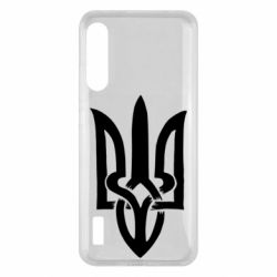 Чохол для Xiaomi Mi A3 Coat of arms of Ukraine torn inside