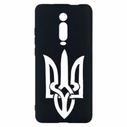 Чехол для Xiaomi Mi9T Coat of arms of Ukraine torn inside