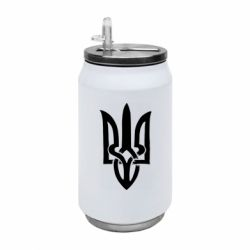 Термобанка 350ml Coat of arms of Ukraine torn inside