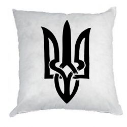 Подушка Coat of arms of Ukraine torn inside
