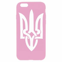 Чехол для iPhone 6 Plus/6S Plus Coat of arms of Ukraine torn inside
