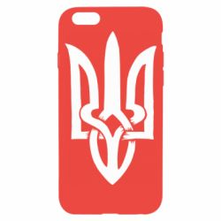 Чехол для iPhone 6/6S Coat of arms of Ukraine torn inside