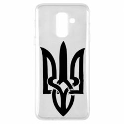 Чехол для Samsung A6+ 2018 Coat of arms of Ukraine torn inside