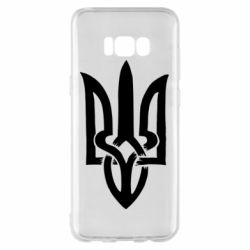 Чехол для Samsung S8+ Coat of arms of Ukraine torn inside