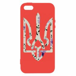Чехол для iPhone5/5S/SE Coat of arms with patterns