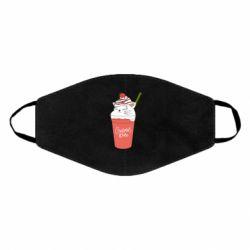 Маска для обличчя Cocktail cat and strawberry