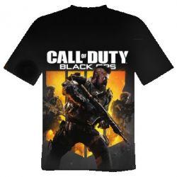 Мужская 3D футболка CoD black ops IIII - FatLine