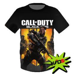 Детская 3D футболка CoD black ops IIII - FatLine