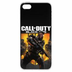 Чехол для iPhone5/5S/SE CoD black ops IIII - FatLine