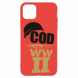 Чохол для iPhone 11 CoD WW II