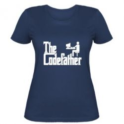 Женская футболка Codefather