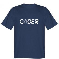 Чоловіча футболка Coder