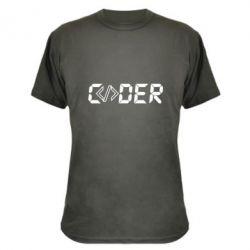 Камуфляжна футболка Coder