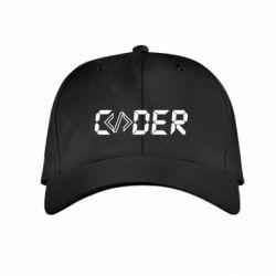 Дитяча кепка Coder