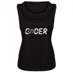 Майка жіноча Coder