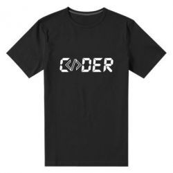 Чоловіча стрейчева футболка Coder