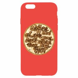 Чехол для iPhone 6/6S Coffee and love are best when they are hot