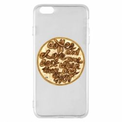 Чехол для iPhone 6 Plus/6S Plus Coffee and love are best when they are hot
