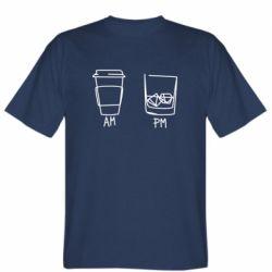Чоловіча футболка Coffee and whiskey