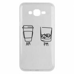 Чохол для Samsung J7 2015 Coffee and whiskey
