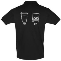 Футболка Поло Coffee and whiskey