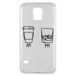 Чохол для Samsung S5 Coffee and whiskey