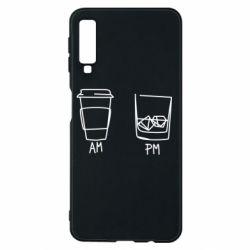 Чохол для Samsung A7 2018 Coffee and whiskey