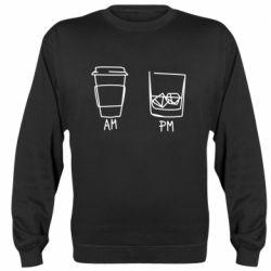 Реглан (світшот) Coffee and whiskey