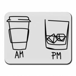 Килимок для миші Coffee and whiskey