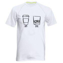 Чоловіча спортивна футболка Coffee and whiskey