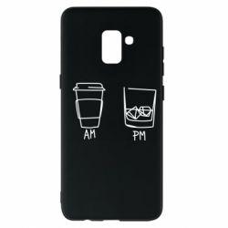 Чохол для Samsung A8+ 2018 Coffee and whiskey
