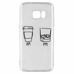 Чохол для Samsung S7 Coffee and whiskey