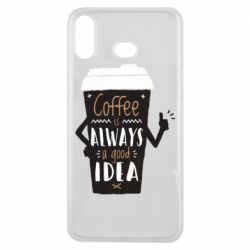 Чехол для Samsung A6s Coffee is always a good idea.