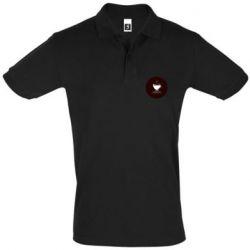 Мужская футболка поло #CoffeLover