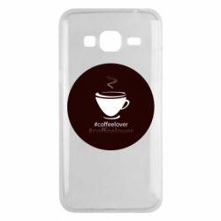 Чехол для Samsung J3 2016 #CoffeLover