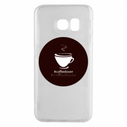 Чехол для Samsung S6 EDGE #CoffeLover